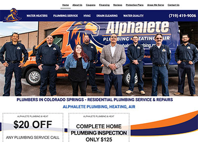 Alphalete Plumbing, Heating, Air