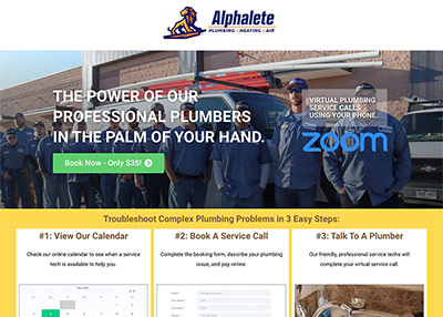 Alphalete Virtual Plumbing Service