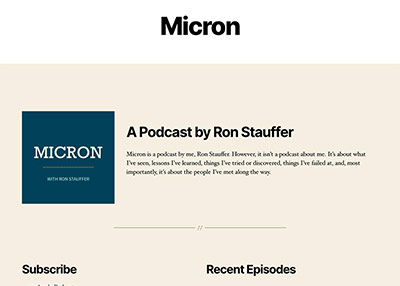 Micron Podcast