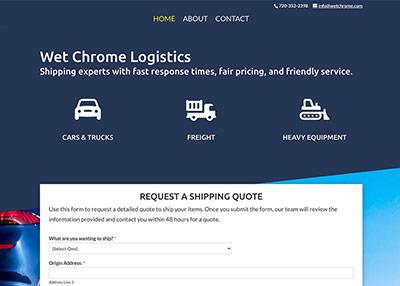 Wet Chrome Auto Logistics