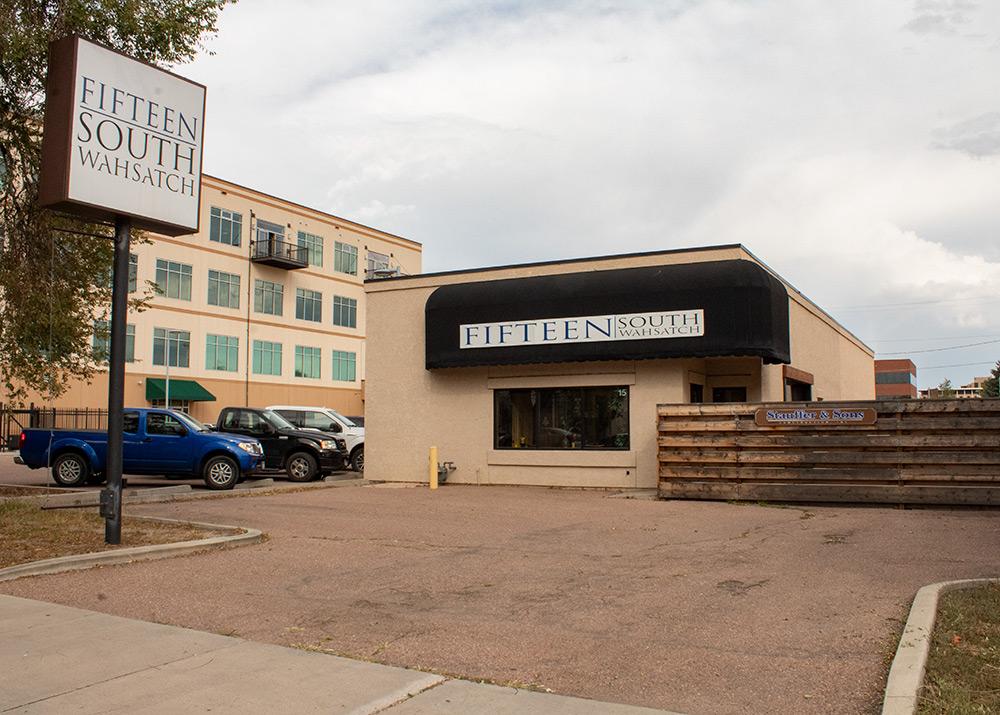 Exterior of Lieder Digital office in Colorado Springs
