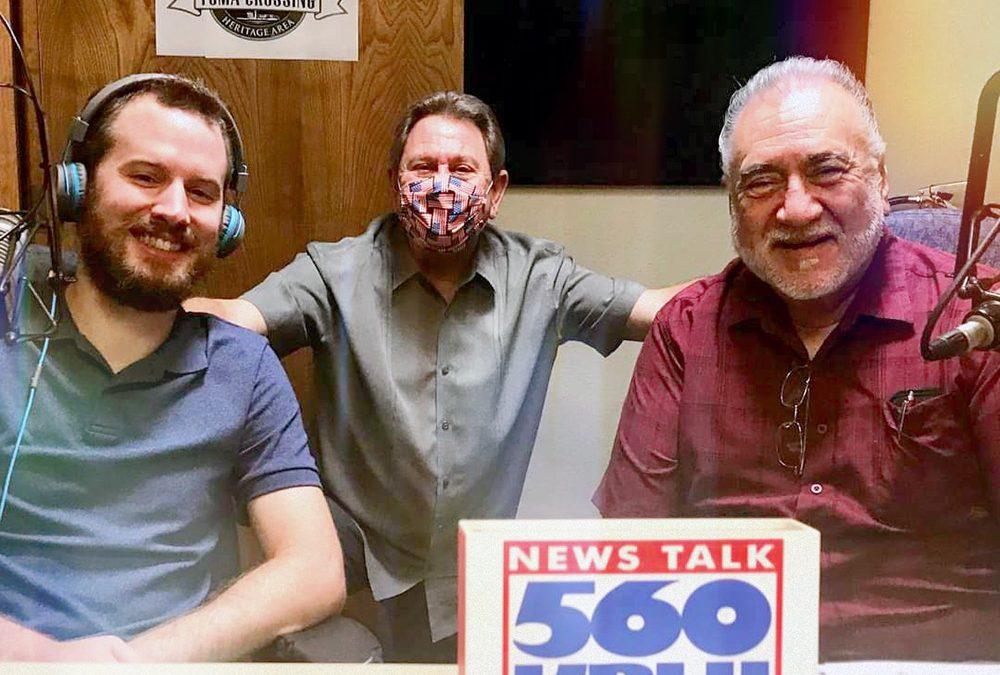 Ron Stauffer on Chamber Chatter Radio Show (NEWS TALK 560AM KBLU) 08-12-20